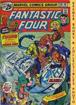 Marvel Fantastic Four (A Sky - Full Of Fear! -- No. 170, May 1976)