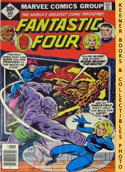 Marvel Fantastic Four (Enter: The Mad Thinker! -- No. 182, May 1977)