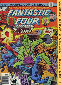 Marvel Fantastic Four (The Impossible Man Is Back In Town! -- No. 176, November 1976)