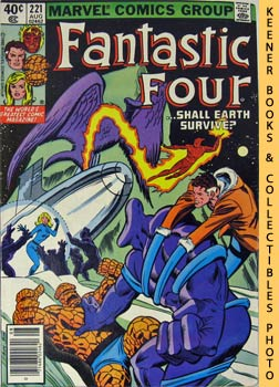 Marvel Fantastic Four (Tower Of Crystal - Dreams Of Glass! -- No. 221, August 1980)