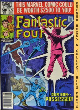 Marvel Fantastic Four (The Possession Of Franklin Richards! -- No. 222, September 1980)