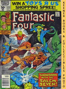 Marvel Fantastic Four (That A Child May Live -- No. 223, October 1980)