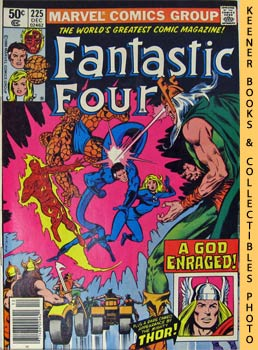 Marvel Fantastic Four : The Blind God's Tears -- No. 225, December 1980