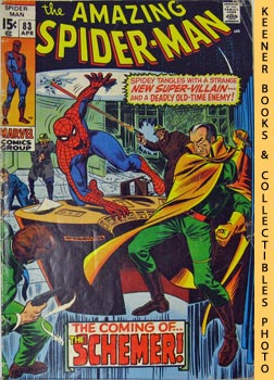 Marvel The Amazing Spider-Man (The Schemer! -- Vol. 1 No. 83 April 1970)