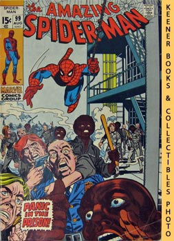 Marvel The Amazing Spider-Man (Panic In The Prison! -- Vol. 1 No. 99 August 1971)