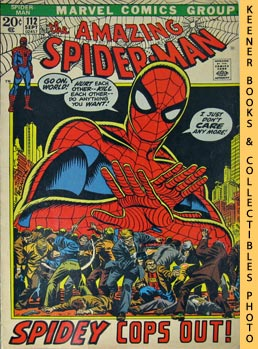 Marvel The Amazing Spider-Man (Spidey Cops Out! -- Vol. 1 No. 112 September 1972)