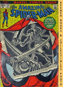Marvel The Amazing Spider-Man (They Call The Doctor - Octopus! -- Vol. 1 No. 113 October 1972)