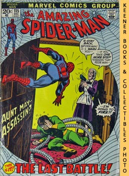 Marvel The Amazing Spider-Man (The Last Battle! -- Vol. 1 No. 115 December 1972)