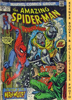 Marvel The Amazing Spider-Man (The Mark Of The Man - Wolf! -- Vol. 1 No. 124 September 1973)