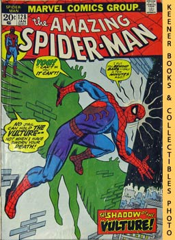 Marvel The Amazing Spider-Man (The Vulture Hangs High! -- Vol. 1 No. 128 January 1974)