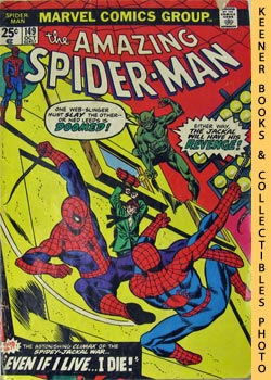 Marvel The Amazing Spider-Man (Even If I Live, I Die! -- Vol. 1 No. 149 October 1975)