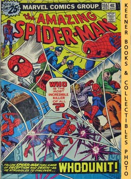 Marvel The Amazing Spider-Man (Whodunit! -- Vol. 1 No. 155, April 1976)