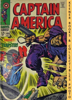 Marvel Captain America (The Snares Of The Trapster! -- Vol. 1 No. 108, December 1968)