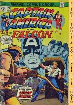 Marvel Captain America And The Falcon (Slings And Arrows! -- Vol. 1 No. 179, November 1974)