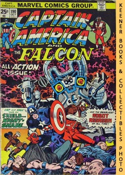 Marvel Captain America And The Falcon (Nightshade Is Deadlier The Second Time Around! -- Vol. 1 N...