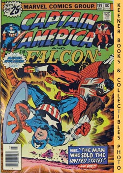 Marvel Captain America And The Falcon (The Man Who Sold The United States! -- Vol. 1 No. 199, Jul...