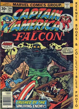 Marvel Captain America And The Falcon (The Unburied One! -- Vol. 1 No. 204, December 1976)