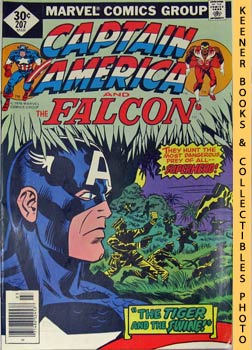 Marvel Captain America And The Falcon (The Tiger And The Swine!! -- Vol. 1 No. 207, March 1977)