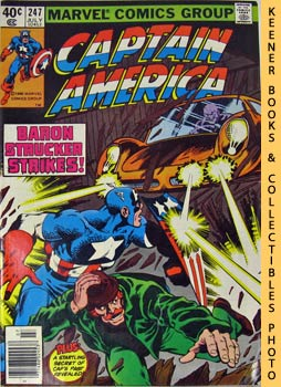 Marvel Captain America (By The Dawn's Early Light! -- Vol. 1 No. 247, July 1980)
