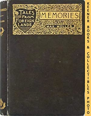 Memories: A Story Of German Love: Tales: Muller, Max (Author)