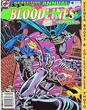 Detective Comics Annual 6: Bloodlines Earthplague : #6 Annual 1993 Issue