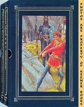 Tales From King Arthur / Treasure Island (Two Volume Set In Slipcase)