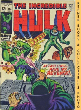 The Incredible Hulk (At Last I Will Have My Revenge! -- Vol. 1 No. 114, April 1969)