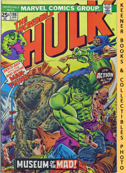 The Incredible Hulk (Museum Of The Mad! -- Vol. 1 No. 198, April 1976)