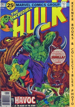 The Incredible Hulk (Havoc At The Heart Of The Atom -- Vol. 1 No. 202, August 1976)