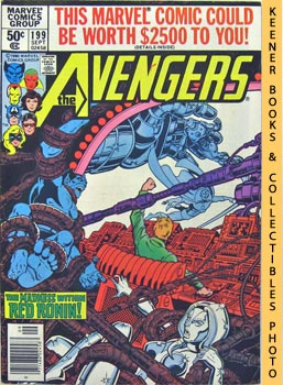 The Avengers (Last Stand On Long Island -- Vol. 1 No. 199, September 1980)