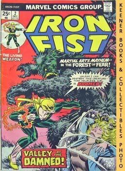 Iron Fist (Valley Of The Damned! -- Vol. 1 No. 2, December 1975)