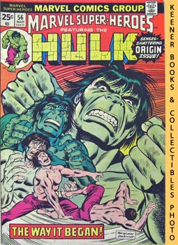 Marvel Super - Heroes Featuring The Hulk (This World Not His Own! -- Vol. 1 No. 56, March 1976)