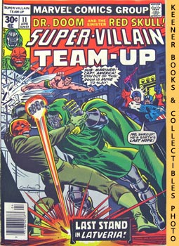 Super-Villain Team-Up (Chapter 3: My Ally, My Enemy! -- Vol. 1 No. 11, April 1977)