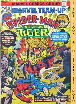 Marvel Team-Up Featuring Spider - Man And The Sons Of The Tiger (Murders Better The Second Time A...