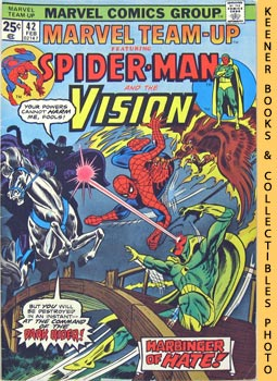 Marvel Team-Up Featuring Spider - Man And The Vision (Visions Of Hate! -- Vol. 1 No. 42, February...