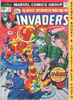 The Invaders (U - Man Must Be Stopped! -- Vol. 1 No. 4, January 1976)