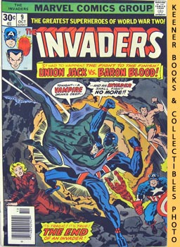 The Invaders (An Invader No More! -- Vol. 1 No. 9, October 1976)