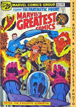 Marvel's Greatest Comics Starring The Fantastic Four (Enter - - The Exquisite Elemental! -- Vol. ...