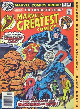 Marvel's Greatest Comics Starring The Fantastic Four (The Mark Of -- The Madman! -- Vol. 1 No. 64...