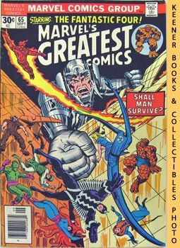 Marvel's Greatest Comics Starring The Fantastic Four (Shall Man Survive? -- Vol. 1 No. 65, Septem...