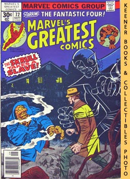 Marvel's Greatest Comics Starring The Fantastic Four (The Power And The Pride! -- Vol. 1 No. 72, ...