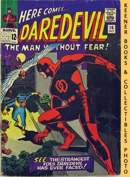Here Comes Daredevil - The Man Without Fear (While The City Sleeps! -- Vol. 1 No. 10, October 1965)