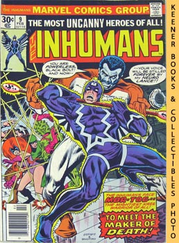 The Inhumans : To Meet The Maker: Lee, Stan /