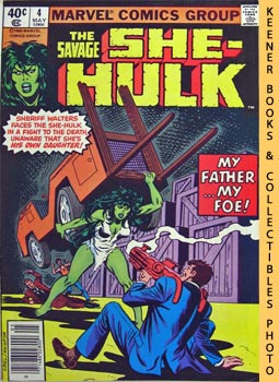 The Savage She-Hulk (The She-Hulk Strikes Back! -- Vol. 1 No. 4, May 1980)