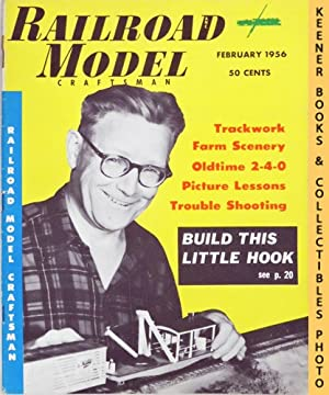 Railroad Model Craftsman Magazine, February 1956 (Vol. 24, No. 9)