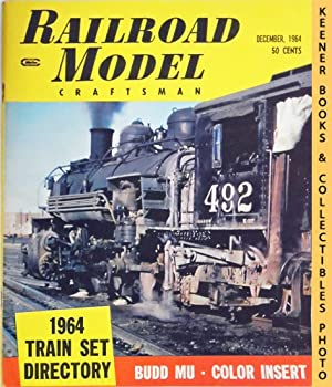 Railroad Model Craftsman Magazine, December 1964 (Vol. 33, No. 7)