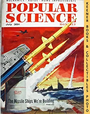 Popular Science Monthly Magazine, July 1956 (Vol. 169, No. 1) : Mechanics - Autos - Homebuilding