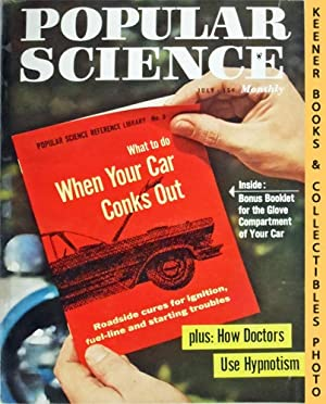 Popular Science Monthly Magazine, July 1957 (Vol. 171, No. 1) : Mechanics - Autos - Homebuilding