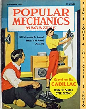 Popular Mechanics Magazine, September 1954 (Vol. 102, No. 3)