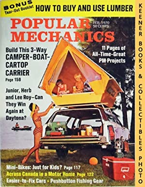 Popular Mechanics Magazine, February 1970 (Vol. 133, No. 2)